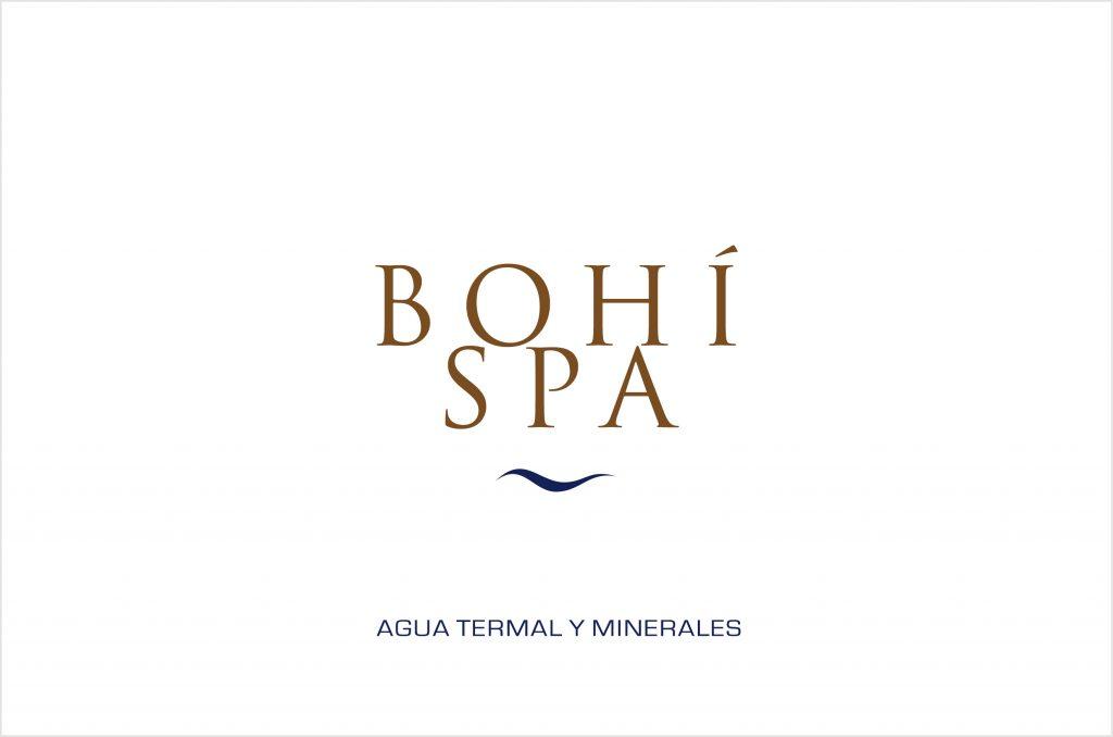 Isabel Torres diseño grafico. Bohí Spa logo