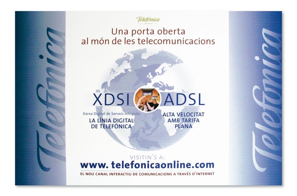 Diseño gráfico Isabel Torres. Telefonica