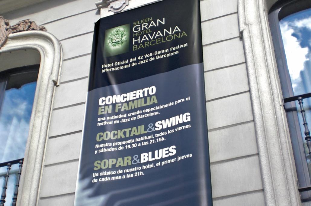 Diseño gráfico Isabel Torres. Silken Gran Hotel Havana