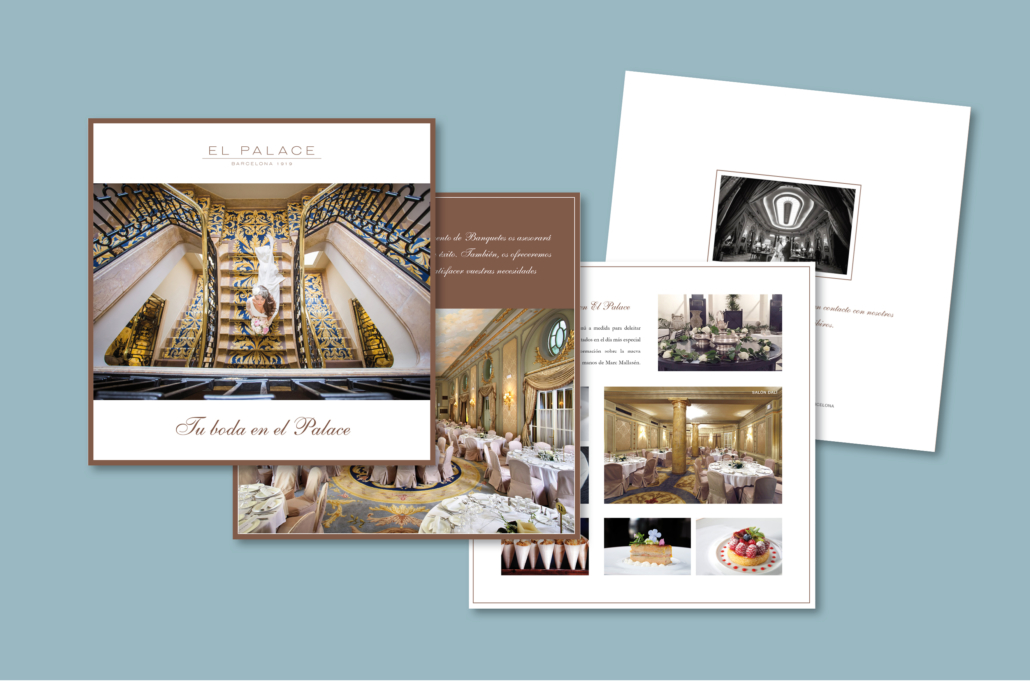 Diseño gráfico Isabel Torres. El Palace