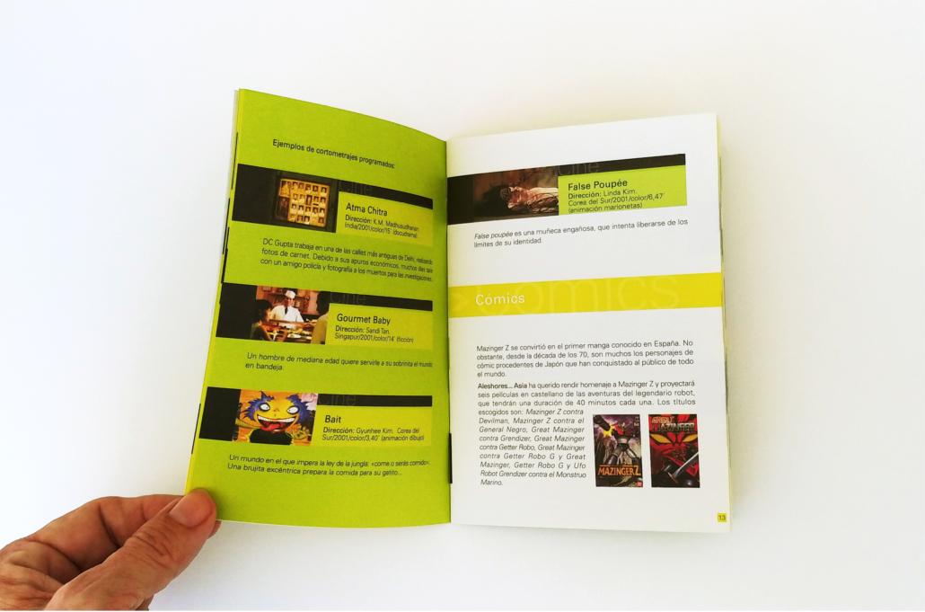 Diseño grafico, Isabel Torres. Casa Asia