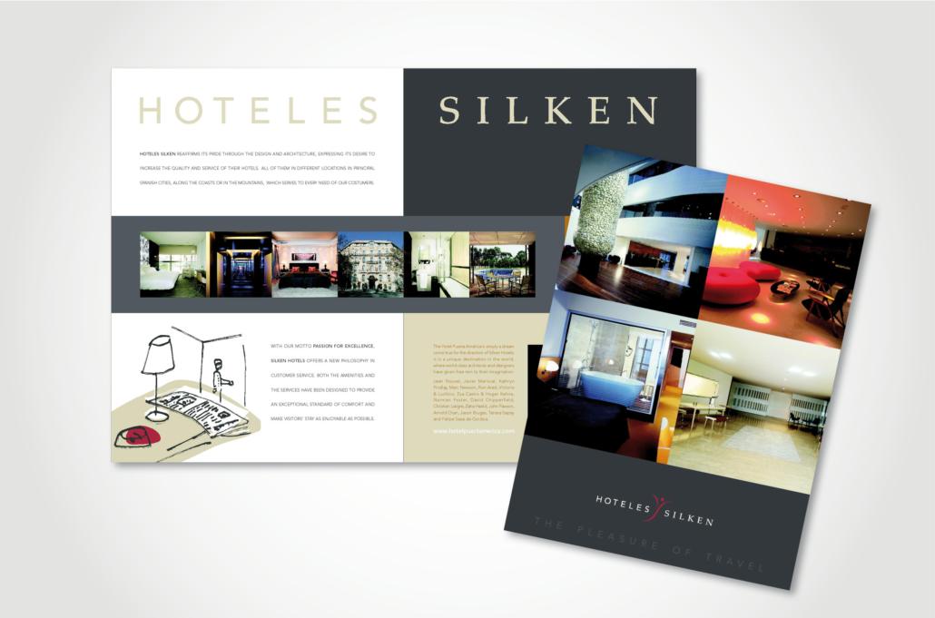 Diseño gráfico Isabel Torres. Hoteles Silken