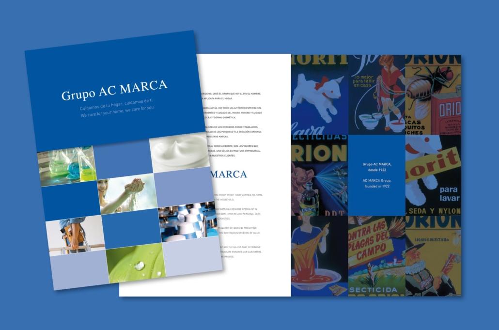Diseño grafico, Isabel Torres. AC-Marca-catalogo