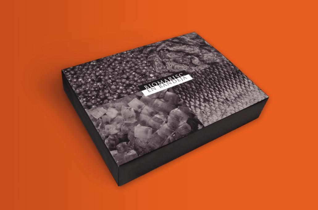 Diseño grafico, Isabel Torres. Gouthier delivery. En Bandeja