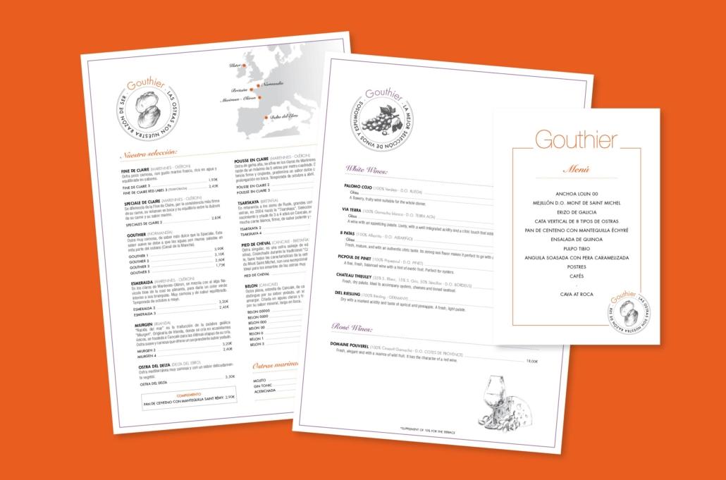 Diseño grafico, Isabel Torres. Gouthier Carta