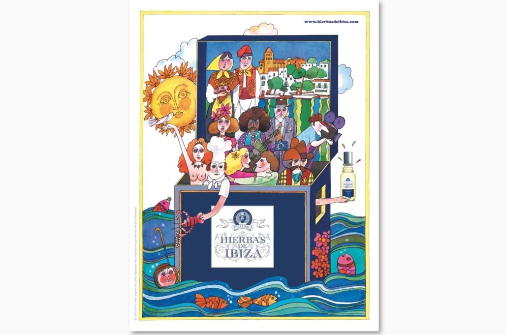 Diseño grafico, Isabel Torres. Hierbas de Ibiza