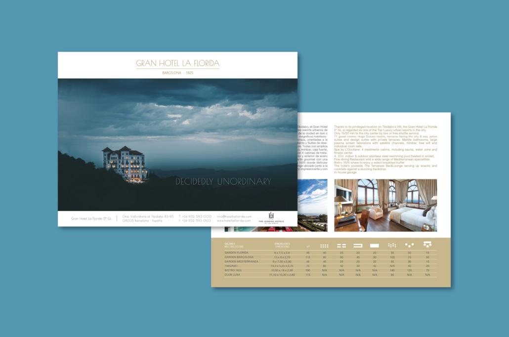 Diseño grafico, Isabel Torres. La Florida Factsheet