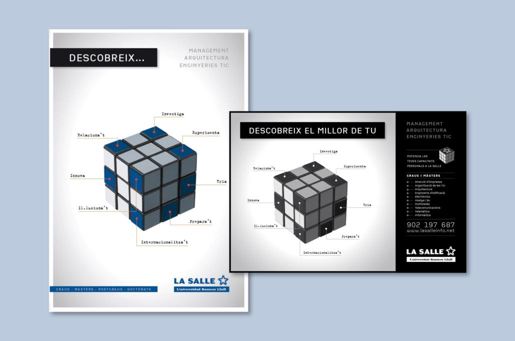 Diseño grafico, Isabel Torres. La Salle
