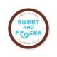 Diseño grafico, Isabel Torres. Sweet and Frozen logo